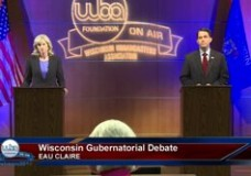 2014 General Election for Governor – Walker & Burke, First Debate