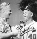 radio-1954-bob-heiss-braves-manager-charlie-grimm