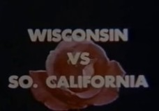 '53 Badgers in Rose Bowl