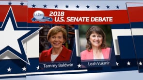 2018 U.S. Senate General Election – Baldwin & Vukmir