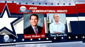 2018 General Election for Governor – Walker & Evers